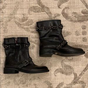 4ad1a80a3 Sam Edelman Shoes - Sam Edelman Adele Moto Biker Studded Boots size 7